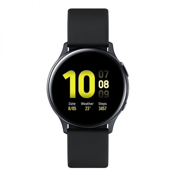 三星(SAMSUNG)Galaxy Watch Active2 智能电话手表运动手表40mm SM-R830(水星黑)12