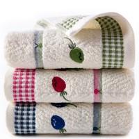 KINGSHORE 金号 G1268T 纯棉毛巾 3条装