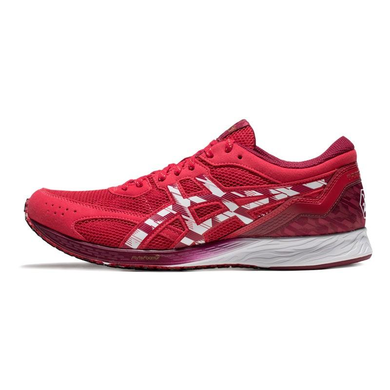 ASICS 亚瑟士 Tartheredge 男士跑鞋 1011A711-600 红色 44