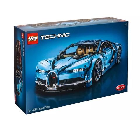 百亿补贴:LEGO 乐高 2018 Technic 科技系列 超旗舰 42083 布加迪奇龙