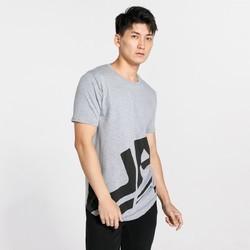Under Armour安德玛 1318567-100 男士运动短袖T恤 灰色 S