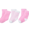 Bornbay 贝贝怡 204P2299 婴儿透气保暖袜子三双装