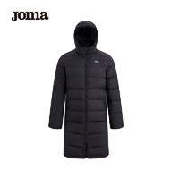 JOMA荷马男士冬季长款羽绒服加厚保暖长款棉服外套