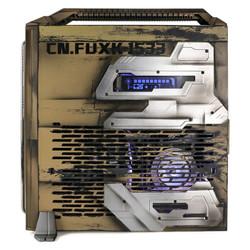 FUXK 银欣米罗8 战地之鹰定制MOD版 便携HTPC迷你Mini-ITX电脑机箱支持ITX主板/SFX电源/手提把