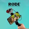 罗德RODE videomicro单反麦克风手机收音麦小型指向性微单相机采访直播话筒微电影Vlog抖音视频网课录音便携