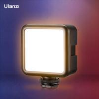 ulanzi VL49补光灯直播迷你led手机拍照柔光灯单反相机热靴配件自拍摄影灯室内便携打光灯