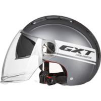GXT复古摩托车帽电动摩托头盔电瓶车电动车头盔男女安全帽3C