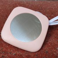 摩豆  恒温杯垫  FM-001粉色款(单杯垫)