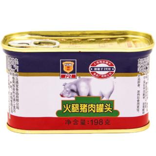 MALING 梅林 火腿猪肉罐头 198g*3罐