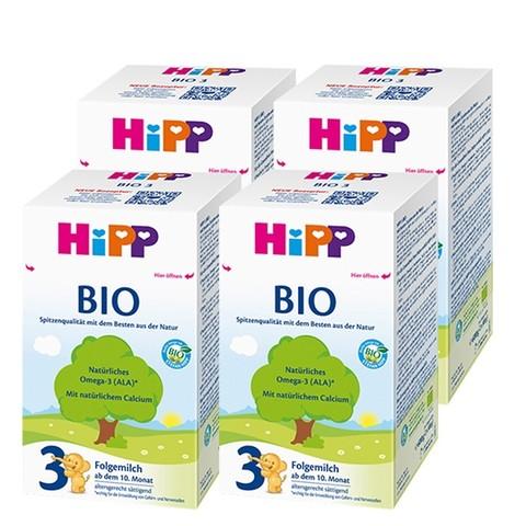 88VIP:HiPP 喜宝 BIO 婴幼儿配方奶 3段 600g*4盒/组
