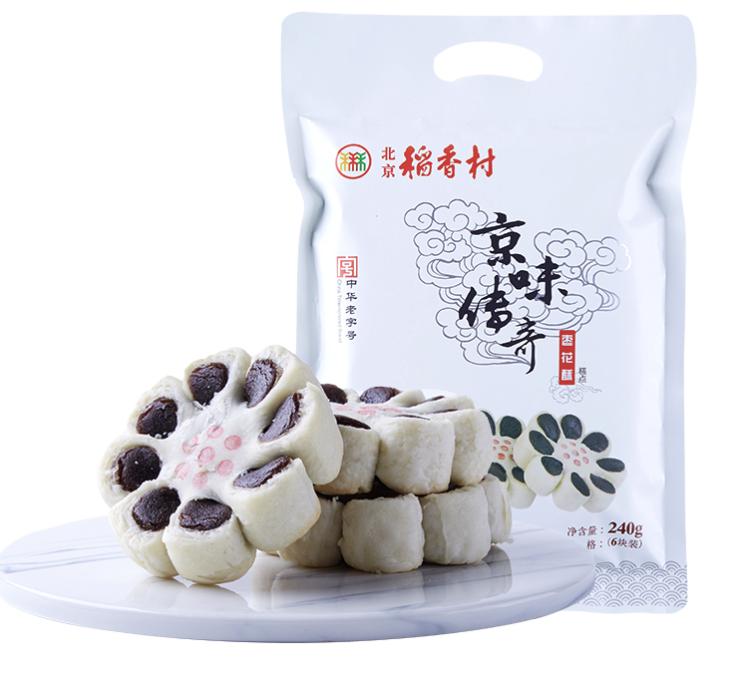 daoxiangcun 北京稻香村  京味传奇 枣花酥糕点 枣味 240g
