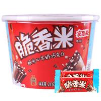 有券的上:Dove 德芙 脆香米牛奶巧克力    216g
