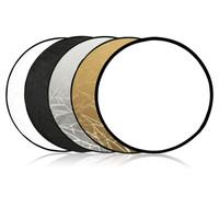 viltrox80CM五合一反光板摄影折叠便携金银黑白5色人像拍摄照直播柔光版 80CM