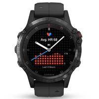 GARMIN 佳明 fenix5x Plus aDLC 运动心率智能手表