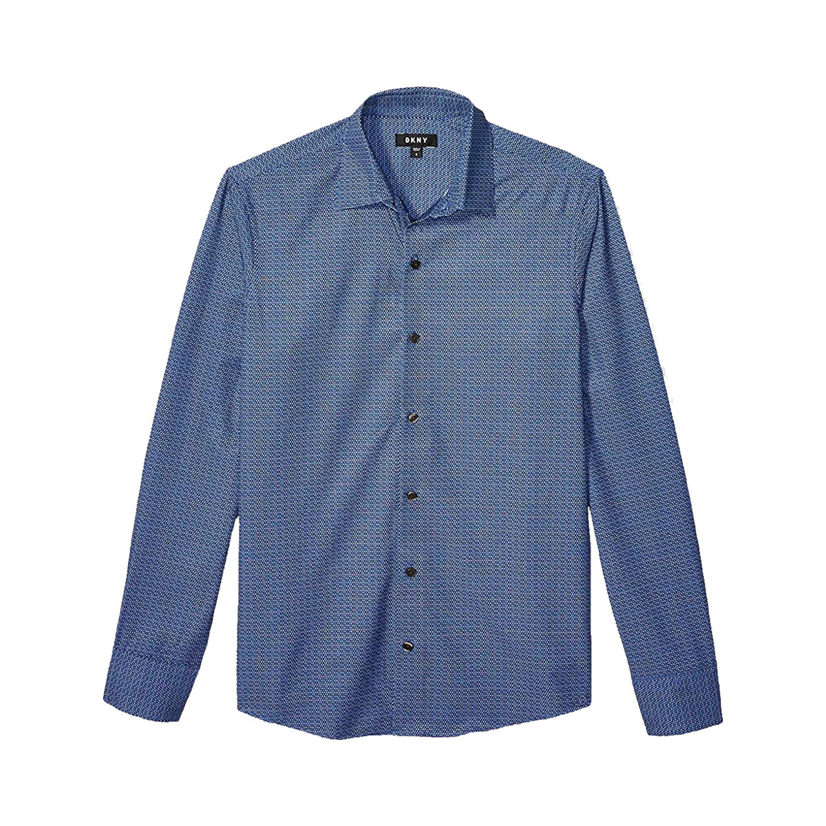 DKNY 唐可娜儿 43MW145402 男士暗纹长袖衬衫