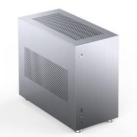 JONSBO 乔思伯 V10 铝侧版 ITX机箱 非侧透 银色