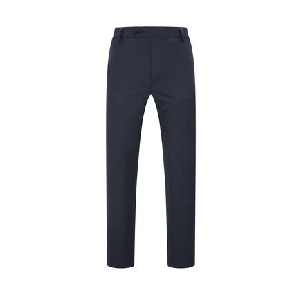 YOUNGOR 雅戈尔 男士羊毛直筒西裤VCXW390003FWA 藏青色170/78A