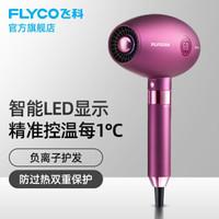 飞科(FLYCO)FH6286电吹风机家用负离子护发大功率静音专业发型师吹风筒 FH6286木槿紫