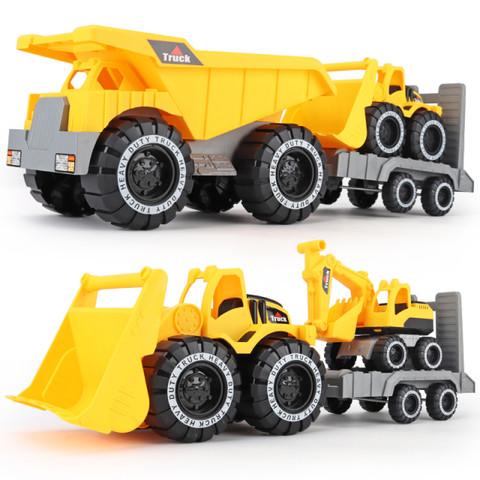 欧莱欧   挖掘机 仿真工程车玩具