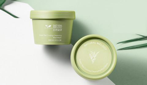 控油净螨去黑头绿茶收毛孔深清洁面膜泥膜