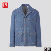 UNIQLO 优衣库 UQ435125666 男装牛仔工装外套