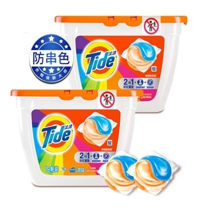 运费券收割机:汰渍 Tide 深层洁净洗衣凝珠21颗/盒 +凑单品