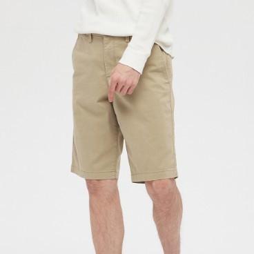 Gap 盖璞 586654 男装舒适弹力纯色休闲短裤