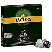 Jacobs 咖啡胶囊 Espresso Ristretto 浓度12/12 兼容Nespresso 200粒