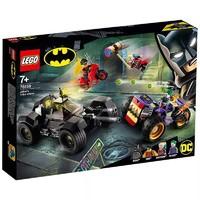 LEGO 乐高 超级英雄系列 76159 小丑罢工追逐 *2件