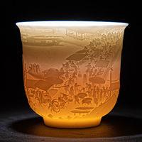 大容量白瓷茶杯多款可选