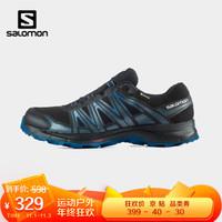 萨洛蒙(Salomon)男款 户外运动防水透气舒适耐磨日常通勤徒步鞋 XA SIERRA GTX 黑色 412562 UK6.5(40)