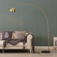 轻奢钓鱼落地灯北欧网红客厅沙发茶几书房卧室床头立式现代台灯