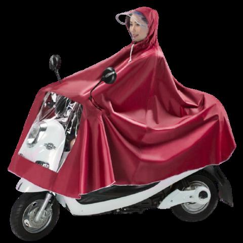 雨衣摩托车电动车长款全身防暴雨单人电瓶车加大加厚男女士款雨披