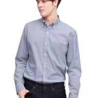 UNIQLO 优衣库 425054 男士修身格子衬衫