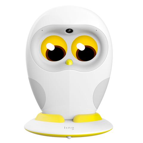宝藏新品牌:ling 物灵 绘本阅读机器人