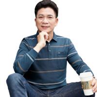 Nan ji ren 南极人 男士翻领长袖POLO衫3902 深鱼绿M