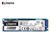 Kingston 金士顿 SA2000M8 500GB SSD固态硬盘 M.2接口(NVMe协议) A2000系列