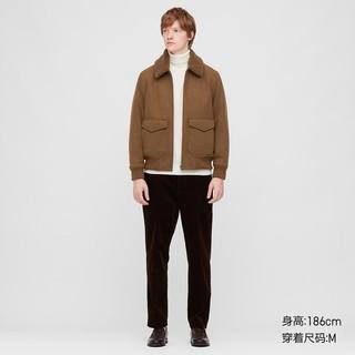UNIQLO 优衣库   430464 男士羊绒毛领夹克