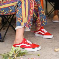 VANS 范斯 Old Skool VN0A3MUS6BT 男/女款板鞋