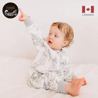 Nest Designs 婴儿睡袋儿童春秋抱被宝宝分腿睡袋包被 轻羽白-四层竹棉(建议室温24-26℃) 80码(建议身高80cm以下)