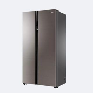 Haier 海尔 BCD-600WDGN 变频风冷对开门冰箱 600L 玛瑙棕