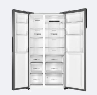 Haier 海尔 鲜派大容量系列 BCD-601WDGX 风冷对开门冰箱 601L 布朗灰
