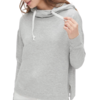 Gap 盖璞 女士纯色连帽套头长袖卫衣525950 灰色M