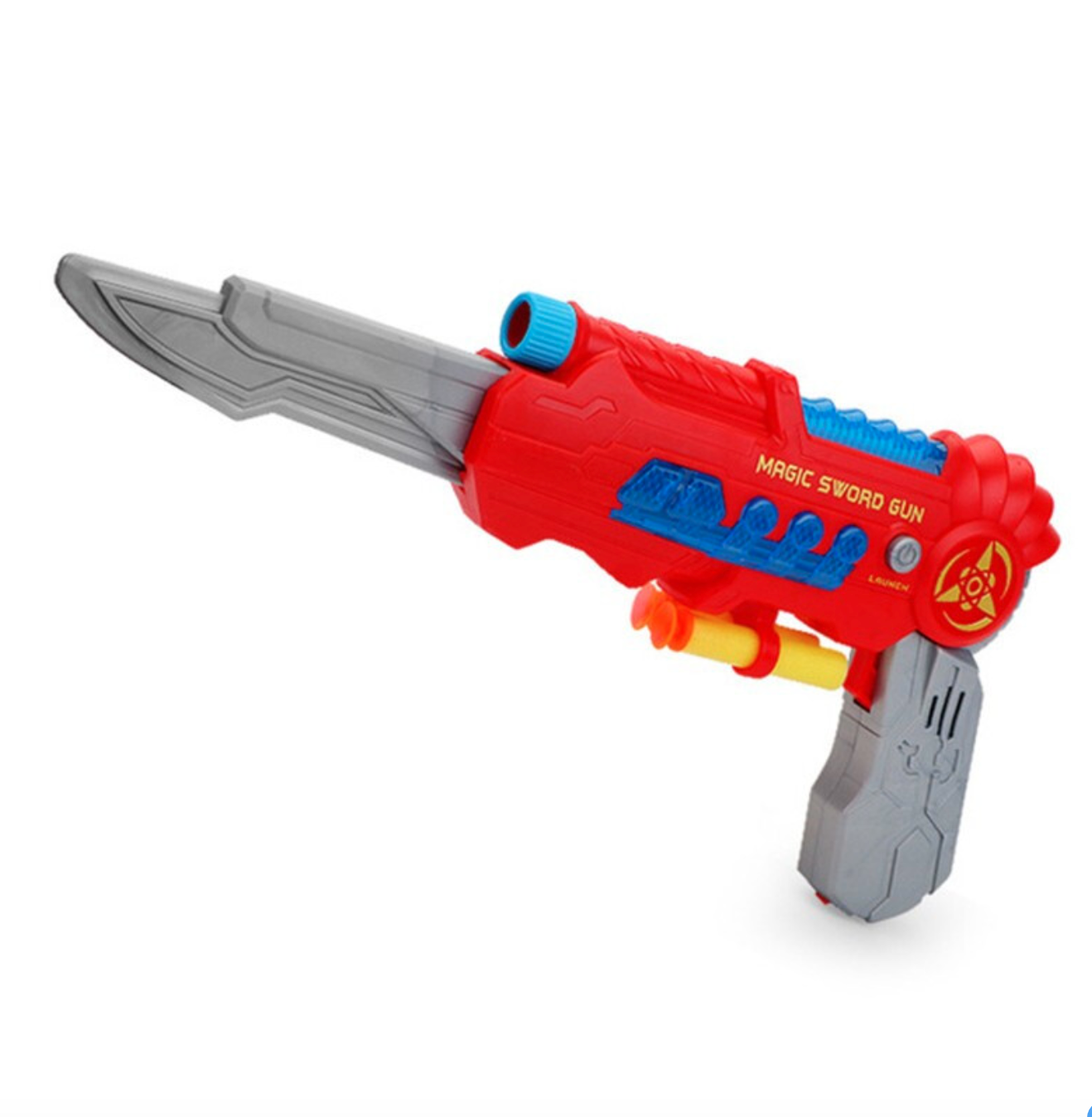 Inbay 茵蓓 儿童玩具枪变形刀声光软弹枪