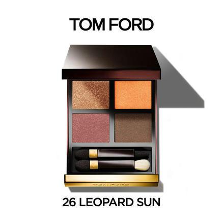 银联返现购 : TOM FORD 汤姆·福特 四色眼影盘 26# Leopard Sun