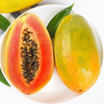 海南红心牛奶木瓜新鲜水果木瓜孕妇水果现摘现发 5斤