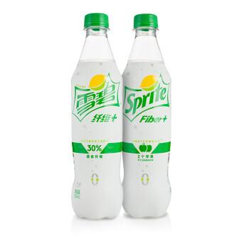 限东北:雪碧 Sprite 纤维+ 柠檬味 无糖零卡零糖 汽水 500ml*12瓶
