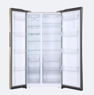 Haier 海尔 BCD-656WDPT 变频风冷对开门冰箱 656L 金色
