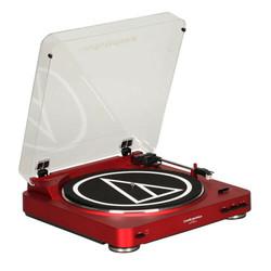 audio-technica 铁三角 AT-LP60RD 黑胶唱片机