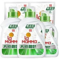 la mamma 妈妈壹选 天然皂液洗衣液 7.2斤